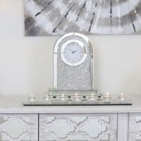 Merano Silver 7 Tealight Candle Holder